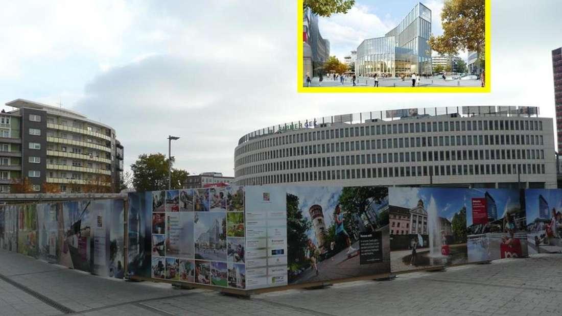 Ein Hochhaus soll auf den Platz, wo früher die Tortenschachtel stand (Archivfoto).