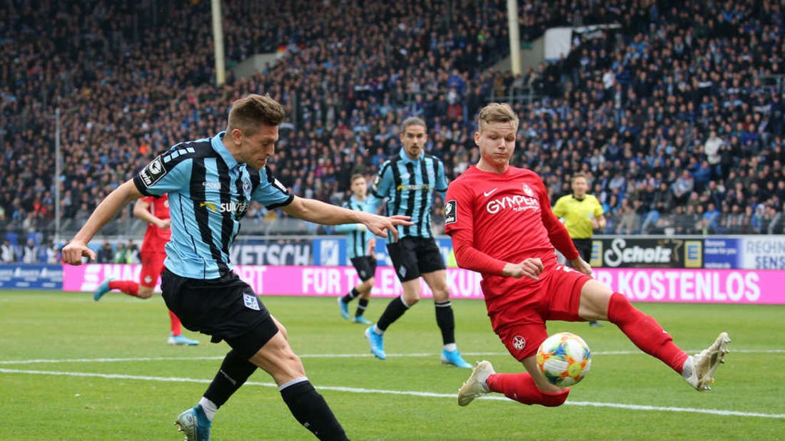 April 2020: Der 1. FC Kaiserslautern gastiert bei Erzrivale Waldhof Mannheim.