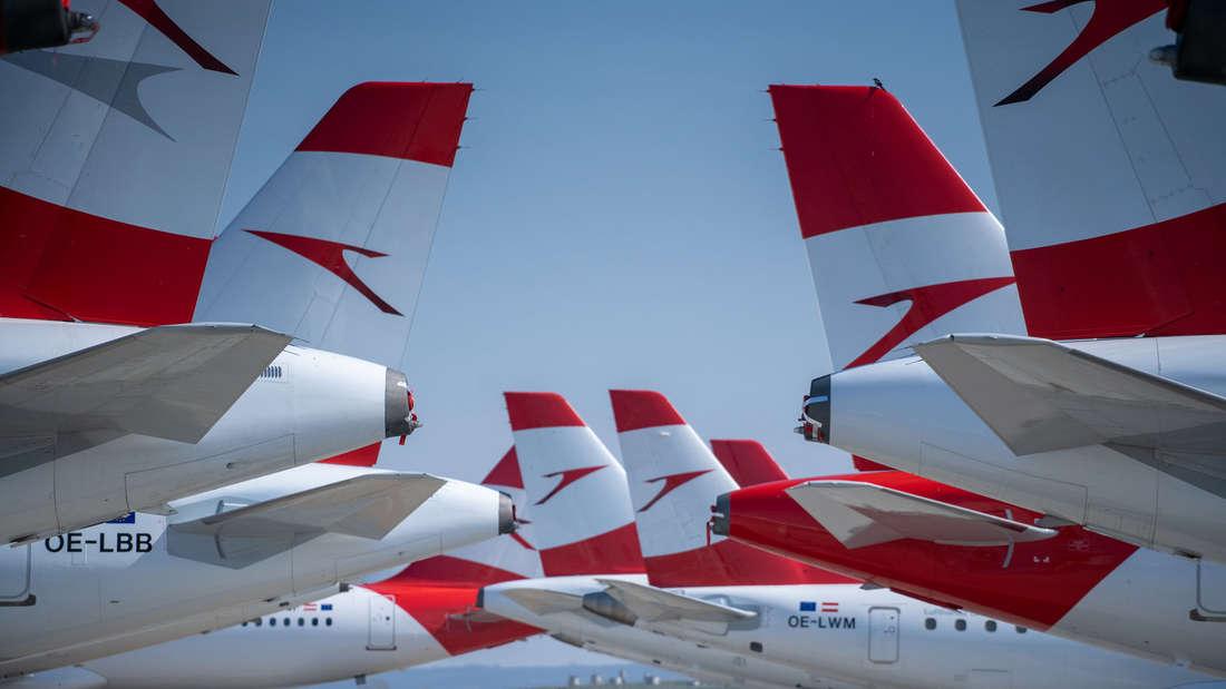Tochterunternehmen der deutschen Lufthansa: die Austrian Airlines.