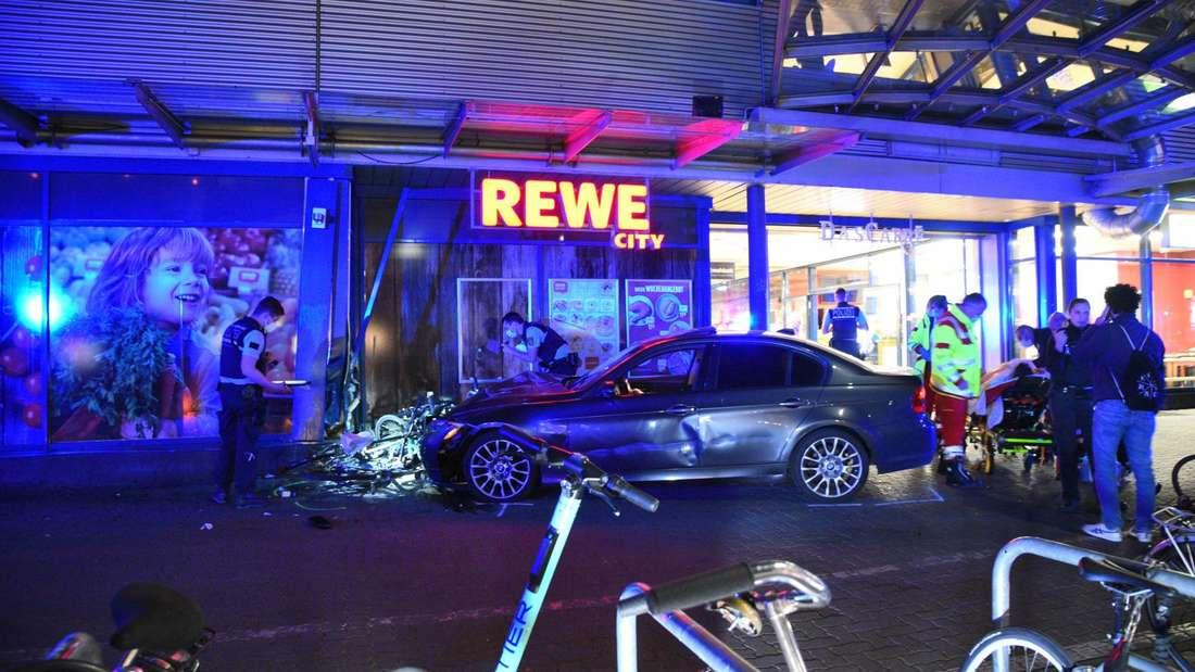 Schwerer Raser-Unfall in Heidelberg