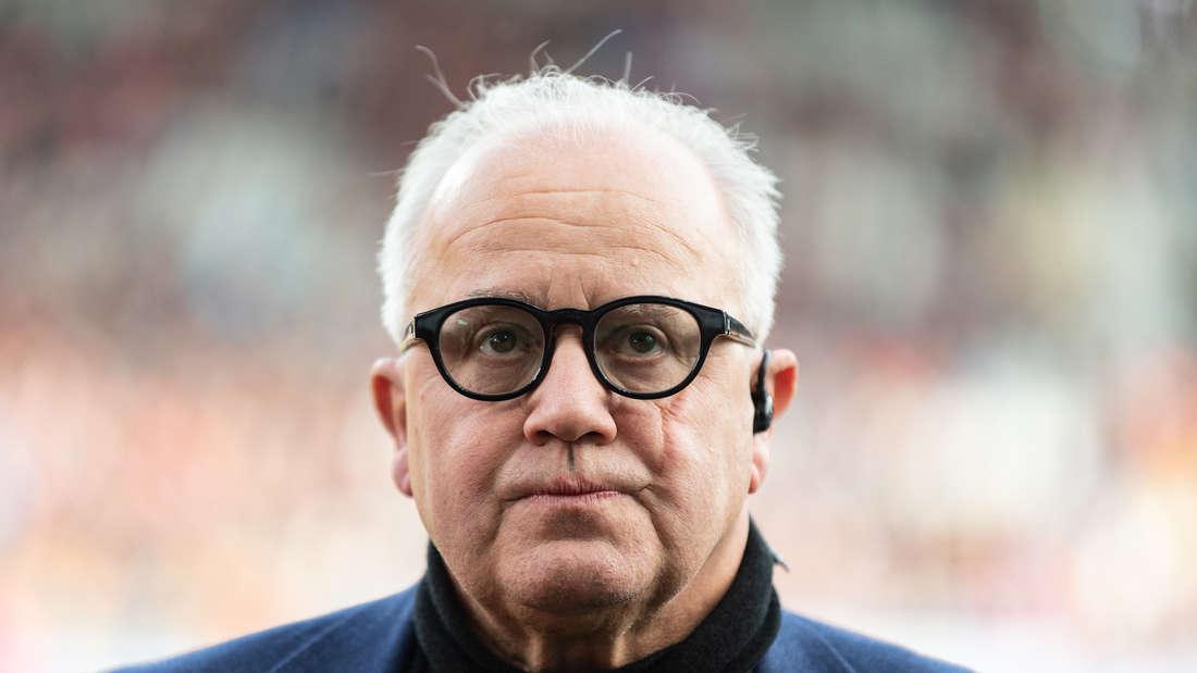 DFB-Präsident Fritz Keller spricht über die Zukunft der 3. Liga.