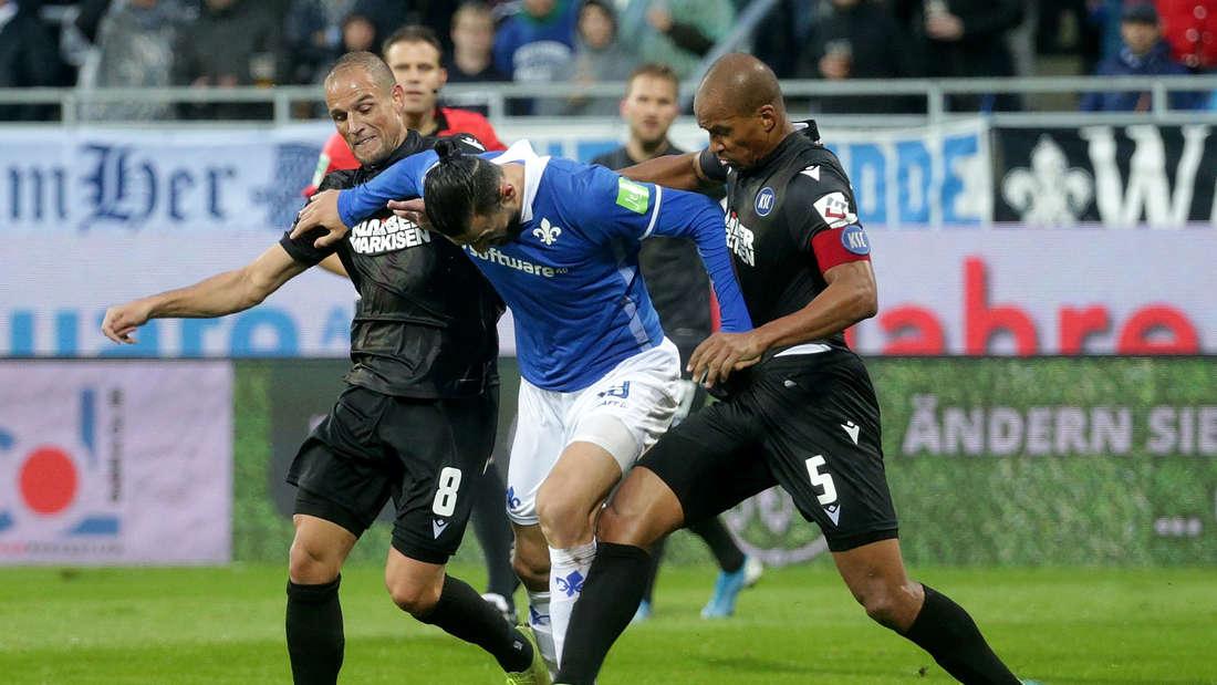 Der Karlsruher SC empfängt am Samstag den SV Darmstadt 98.