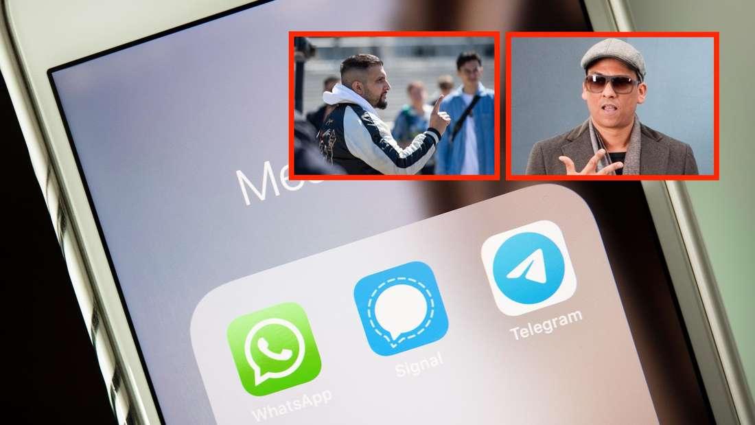 Viele Verschwörungstheoretiker wie Xavier Naidoo oder Attila Hildmann nutzen Telegram. (Symbolfoto)