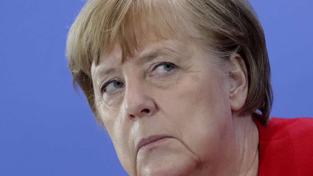 Bundeskanzlerin Angela Merkel äußert sich zu Hacker-Angriffen mit offenbar russischer Beteiligung. (Archivbild)