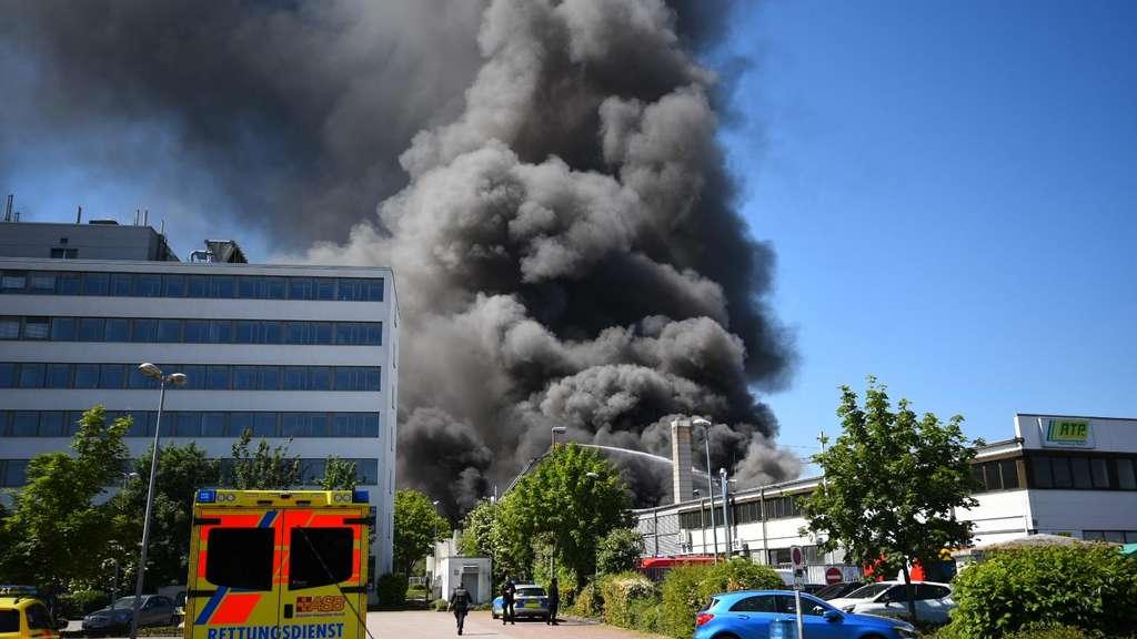 Großbrand Ladenburg