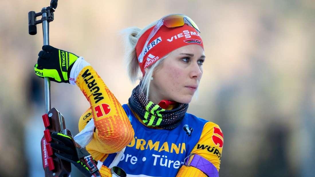 Karolin Horchler: Geburtsdatum: 09.05.1989; Skiclub: WSV Clausthal-Zellerfeld; Größte Erfolge: Gesamtsiegerin im IBU-Cup 2017/18, Vizeweltmeisterin in der Staffel 2020; Platzierung im Gesamtweltcup der Saison 2019/20: 37.