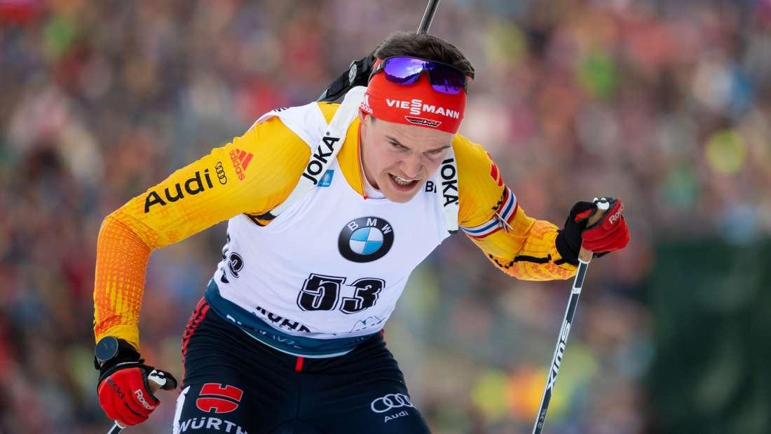 Philipp Horn: Geburtsdatum: 08.11.1994; Skiclub: SV Eintracht Frankenhain; Größte Erfolge: Bronzemedaille bei der WM 2020 mit der Staffel, Deutscher Meister im Massenstart 2018; Platzierung im Gesamtweltcup der Saison 2019/20: 18.