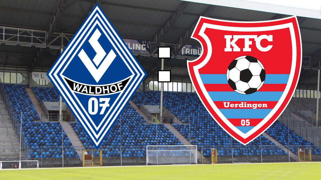 Der SV Waldhof Mannheim empfängt am Samstag den KFC Uerdingen.