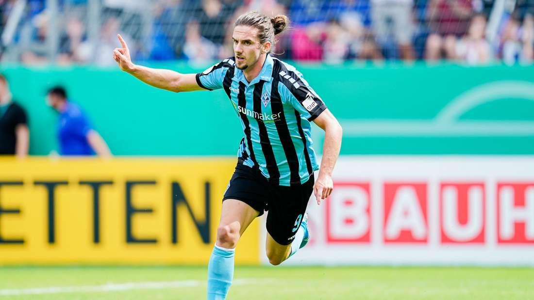 Valmir Sulejmani wird dem SV Waldhof Mannheim mehrere Wochen fehlen.