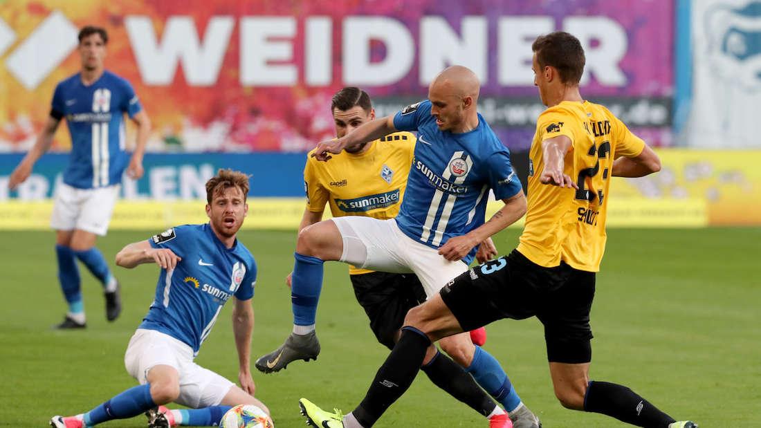 Hansa Rostock - SV Waldhof Mannheim