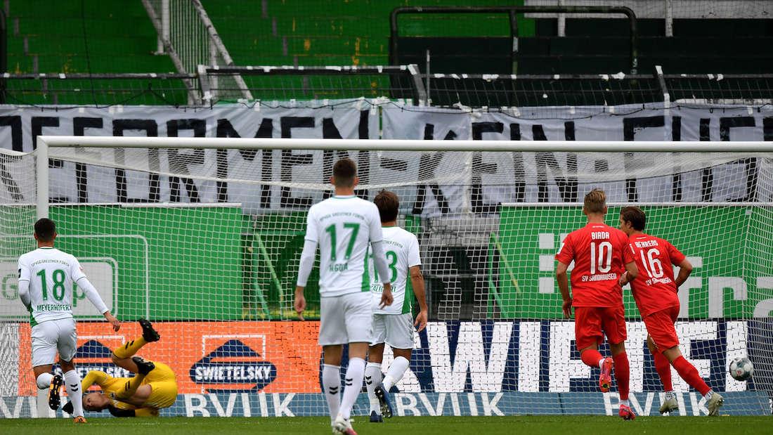 SpVgg Greuther F¸rth - SV Sandhausen