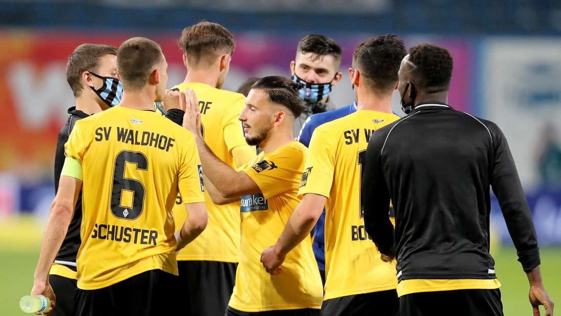 Der SV Waldhof ist nun alleiniger Tabellenzweiter der 3. Liga.
