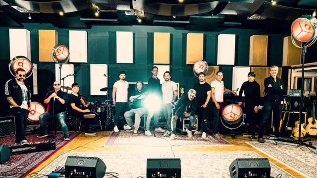 Die Band Söhne Mannheims (Gruppenfoto)