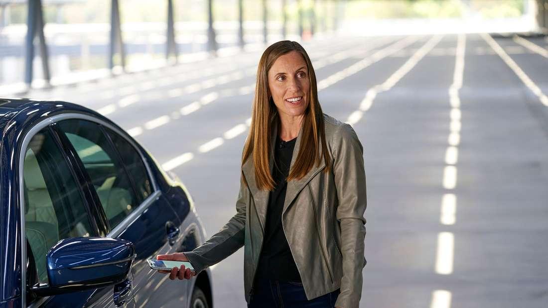 Praktisch: mit Carkey kann das iPhone zum mobilen Autoschlüssel werden.
