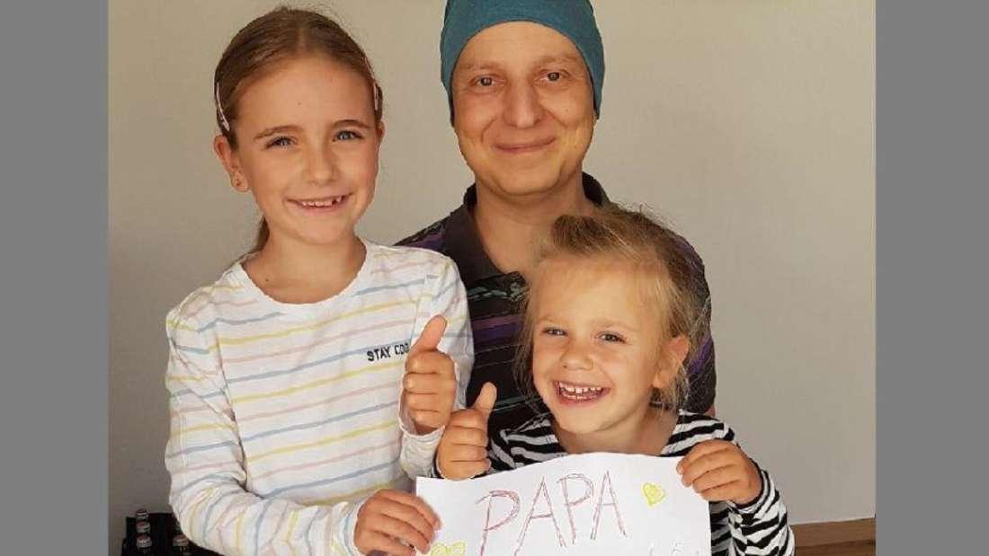 Sirko und seine beiden Töchter.