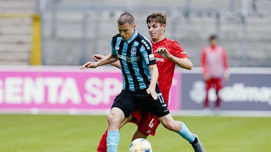 Der SV Waldhof verliert sein Heimspiel gegen den FC Bayern München II.