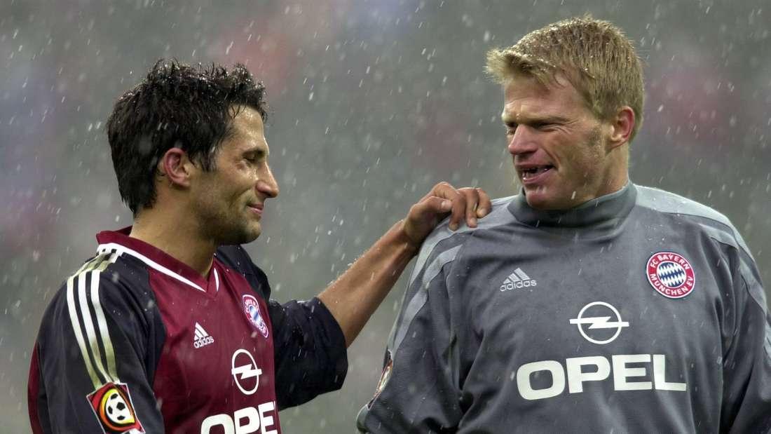 """Wollen jetzt auch Erfolge""""im Anzug"""" feiern: Hasan Salihamidzic (l.) und Oliver Kahn."""