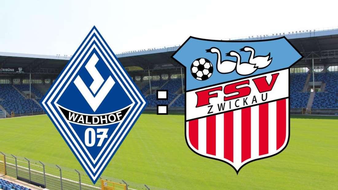 Der SV Waldhof Mannheim empfängt den FSV Zwickau (Fotomontage).