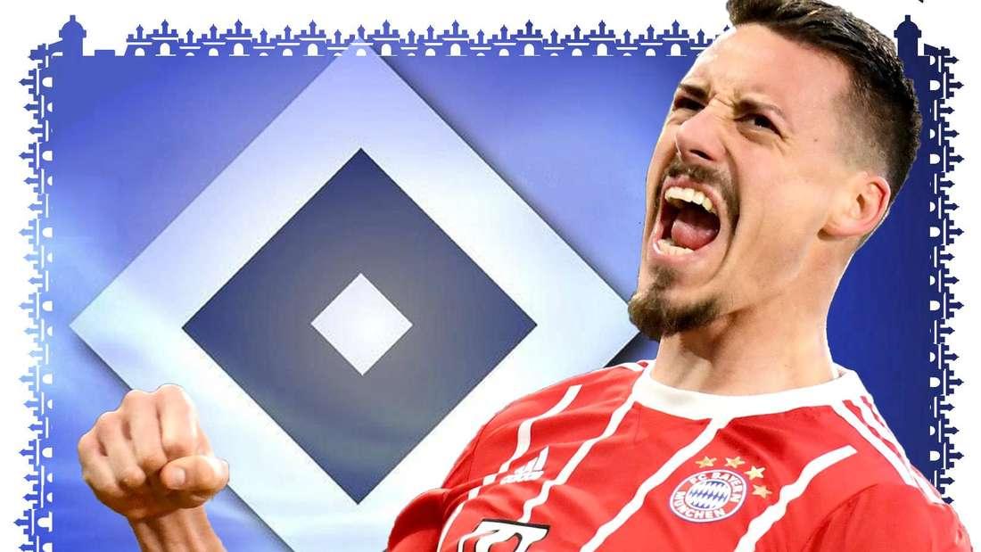 Sandro Wagner jubelt im Dress des FC Bayern München über einen Treffer und ballt dabei die rechte Hand zur Faust.
