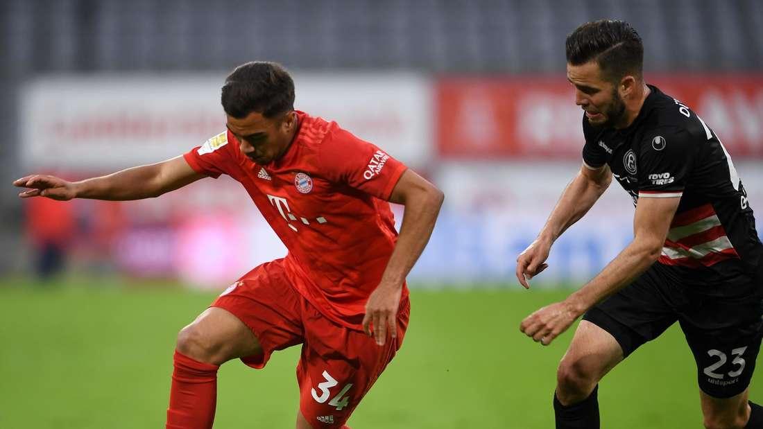 Oliver Batista Meier (li., hier beim Bundesliga-Spiel gegen Fortuna Düsseldorf) soll bei der TSG Hoffenheim im Gespräch sein.