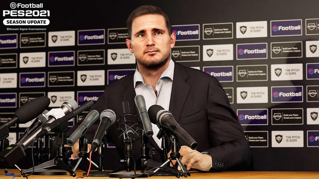 Frank Lampard Pressekonferenz Pro Evolution Soccer