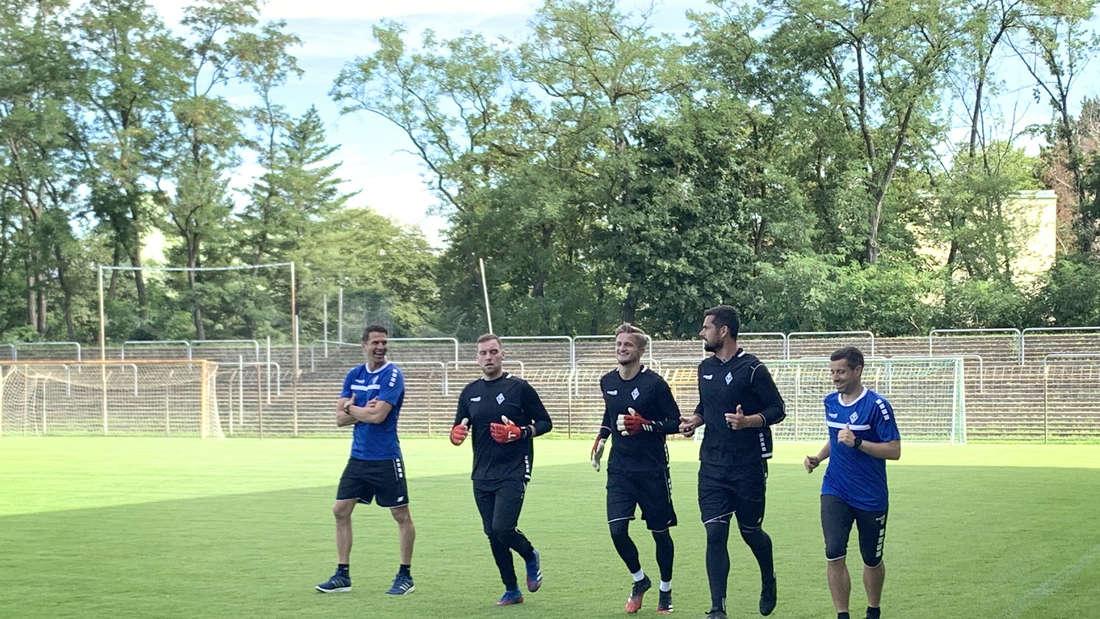 (v.l.n.r.) Patrick Glöckner, Timo Königsmann, Jan-Christoph Bartels, Markus Scholz und Dennis Tiano.