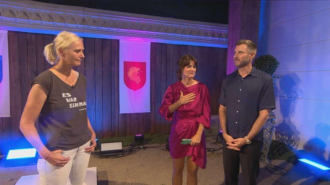 Claudia Kohde-Kilsch, Jochen Schropp und Marlene Lufen im Studio.