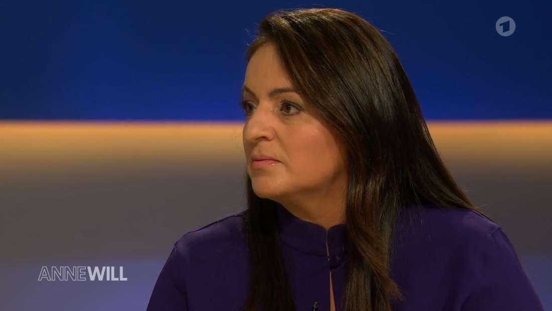 Linken-Abgeordnete Dagdelen in der TV-Sendung Anne Will