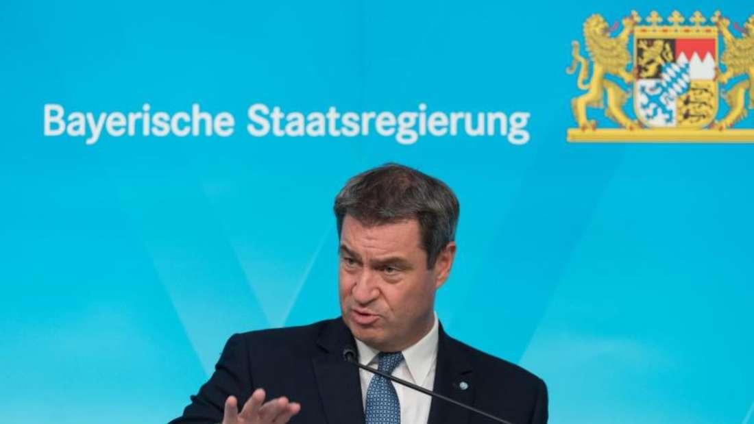 Bund und Länder streben laut Markus Söder schneller als geplant eine einheitliche Lösung für die Fanrückkehr in Stadien an. Foto: Peter Kneffel/dpa