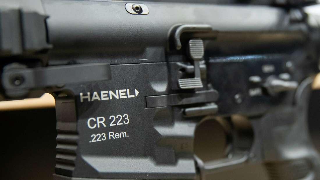 Ein Gewehr des Herstellers Haenel.