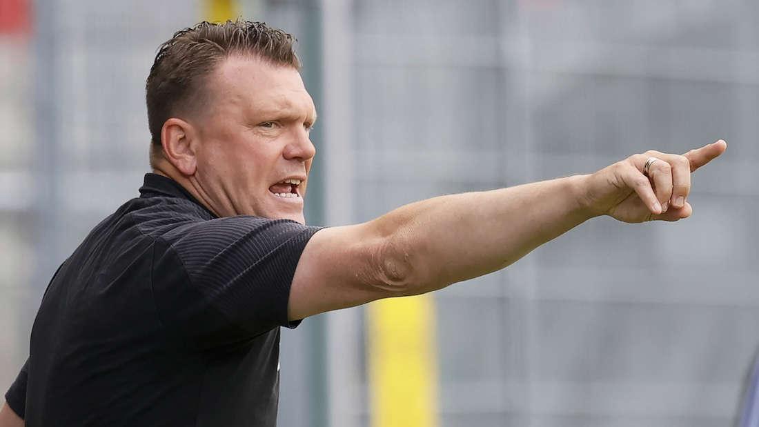 Sandhausen-Trainer Uwe Koschinat freut sich auf die Partie gegen Darmstadt 98.