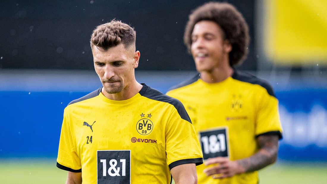 Thomas Meunier schätzte mit Manuel Akanji und Thomas Delaney jeweils das Rating bei FIFA 21 ein.