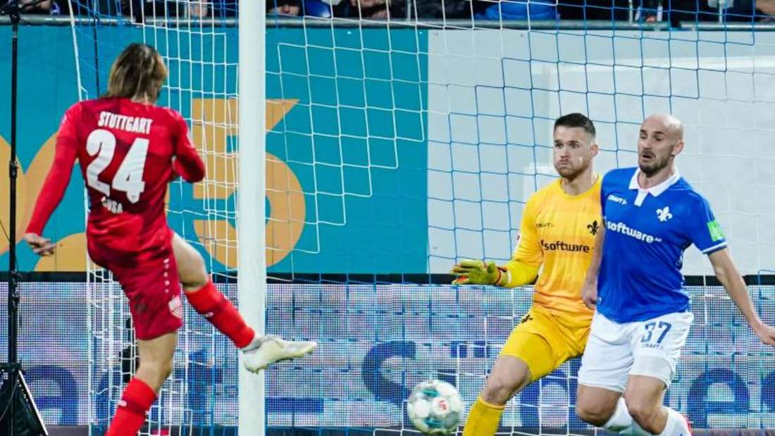 Borna Sosa traf beim VfB Stuttgart einmal in einem Pflichtspiel. Es war gegen Darmstadt und rettete dem VfB einen Punkt.