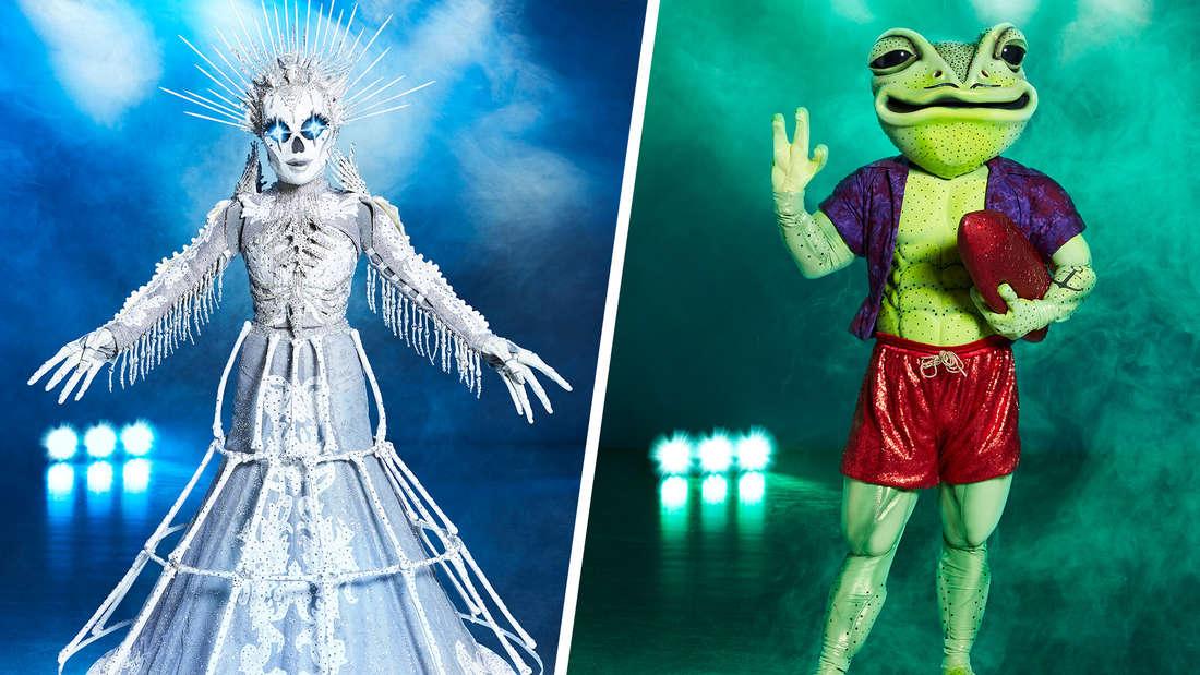 """Das Skelett und der Frosch in der neuen Staffel von """"The Masked Singer"""""""