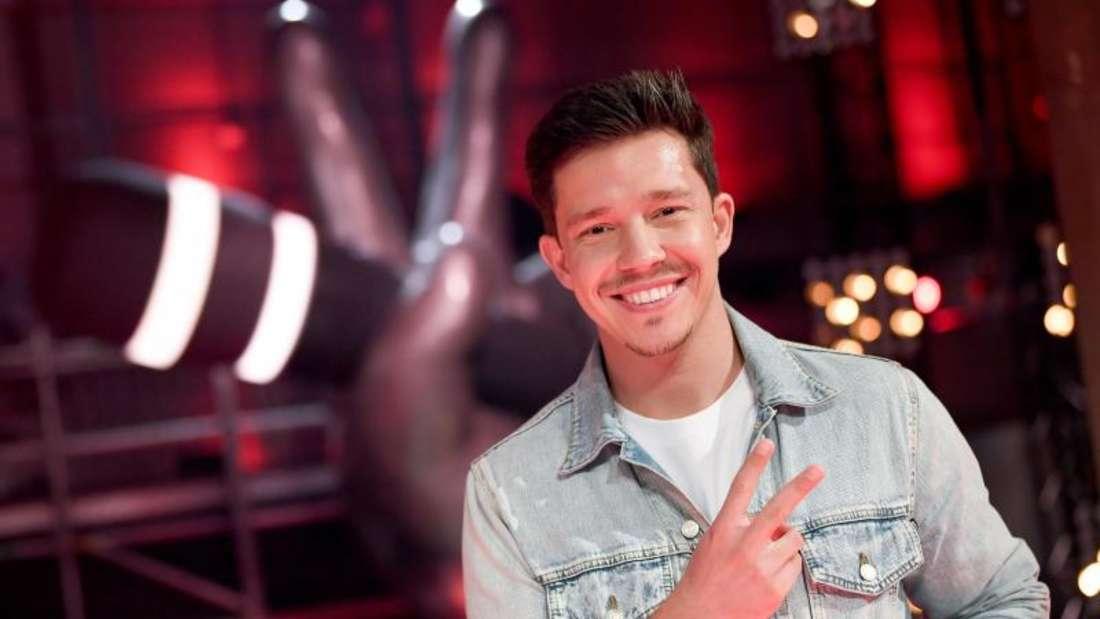 Nico Santos 2019 bei «The Voice of Germany». Foto: Britta Pedersen/dpa-Zentralbild/dpa