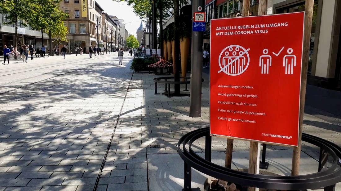 Corona in Mannheim: Fallzahlen steigen weiter – Reiserückkehrer im Fokus der Behörden (Symbolbild).