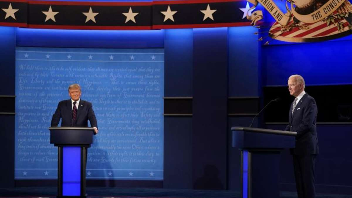 Tv Duell Biden Trump Termine