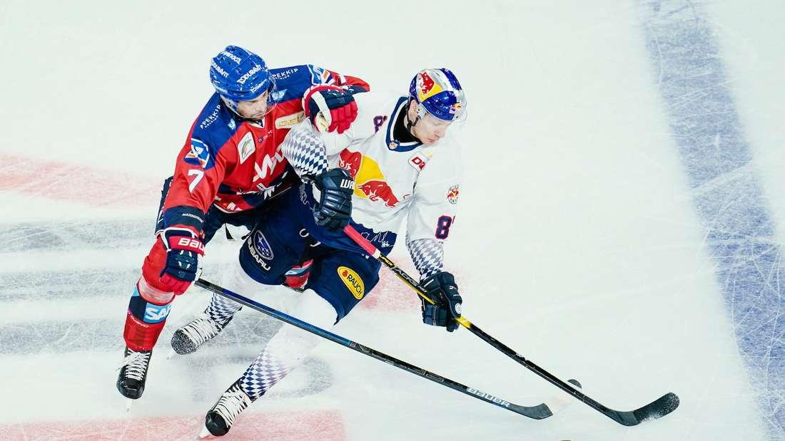 MagentaSport-Cup: Die Adler Mannheim treffen zum Auftakt auf den EHC Red Bull München.