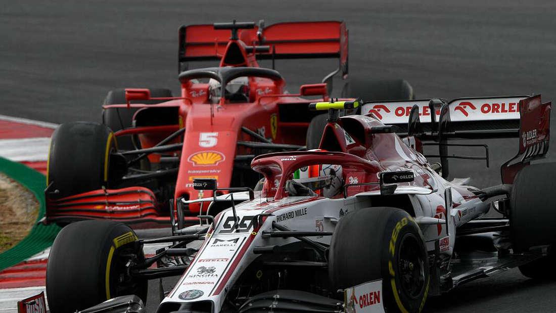 Sebastian Vettel beim Grand Prix in Portugal