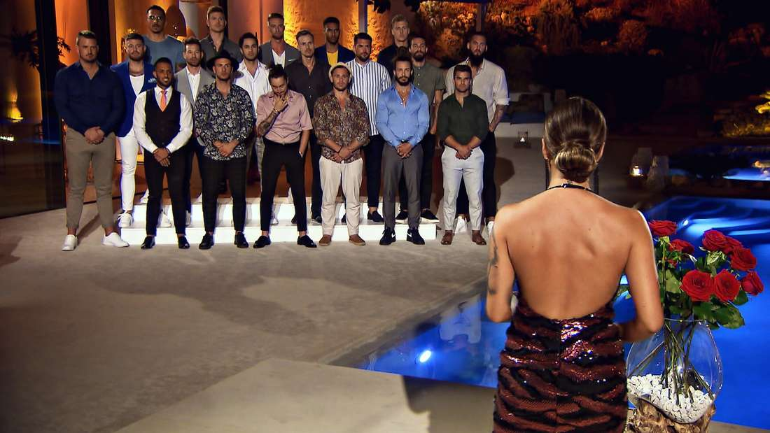 Melissa und die Single-Männer bei der Nacht der Rosen.
