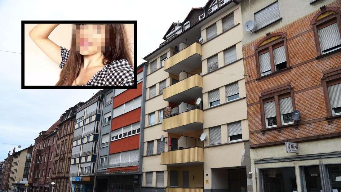 Die Neuhofer Straße im Stadtteil Rheinau in Mannheim: Hier wurde die spanische Studentin Gema R. (†22) in der Wohnung ihres Ex-Freundes getötet.