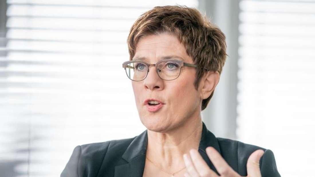Die Noch-CDU-Vorsitzende Annegret Kramp-Karrenbauer.