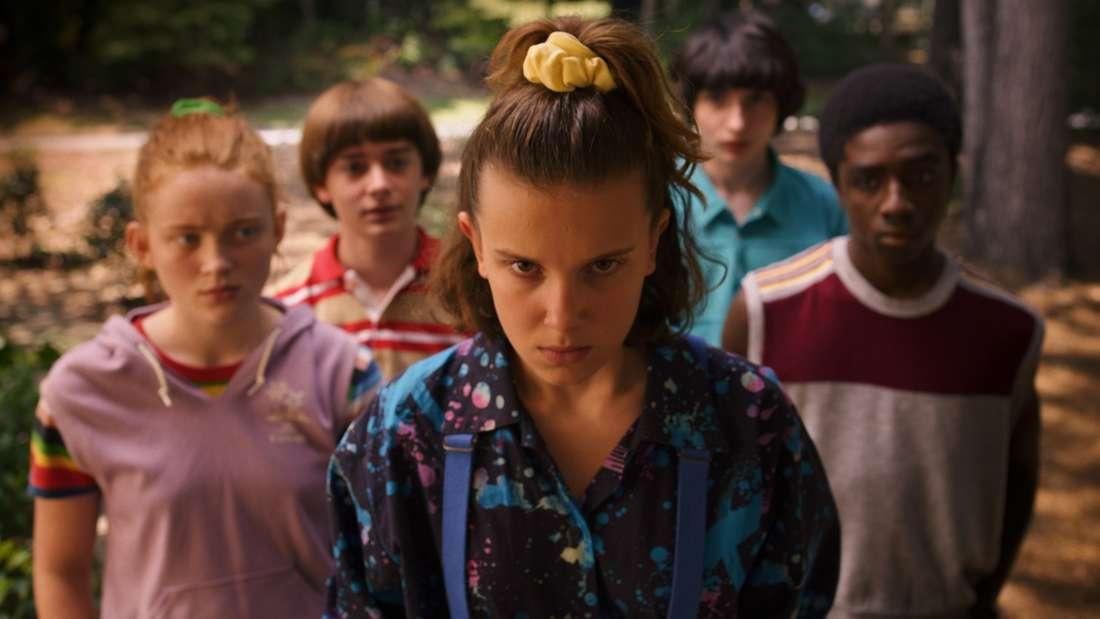 "Die Darsteller der Netflix-Serie ""Stranger Things""."