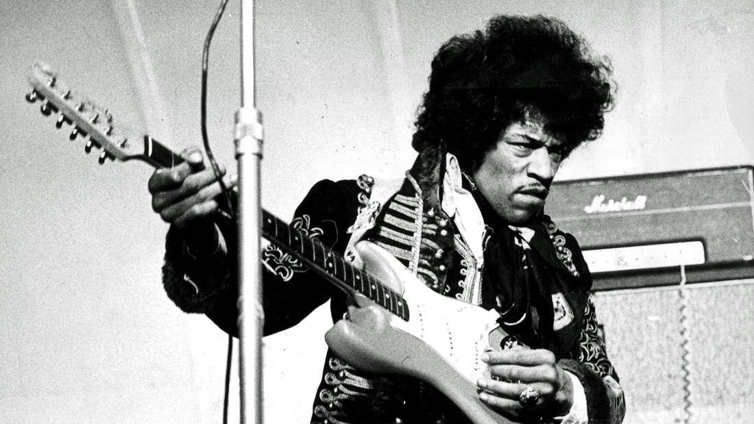 Jimi Hendrix war einer der besten Gitarristen der Welt.
