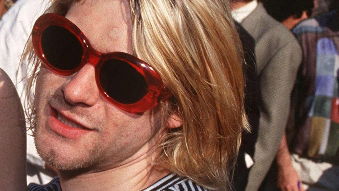 Kurt Cobain brachte sich 1994 mit einer Schrotflinte um.