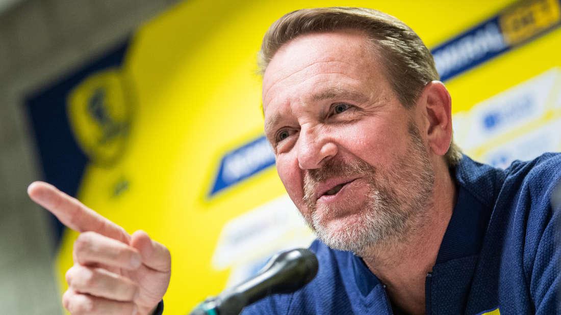 Trainer Martin Schwalb soll bei den Rhein-Neckar Löwen verlängern.