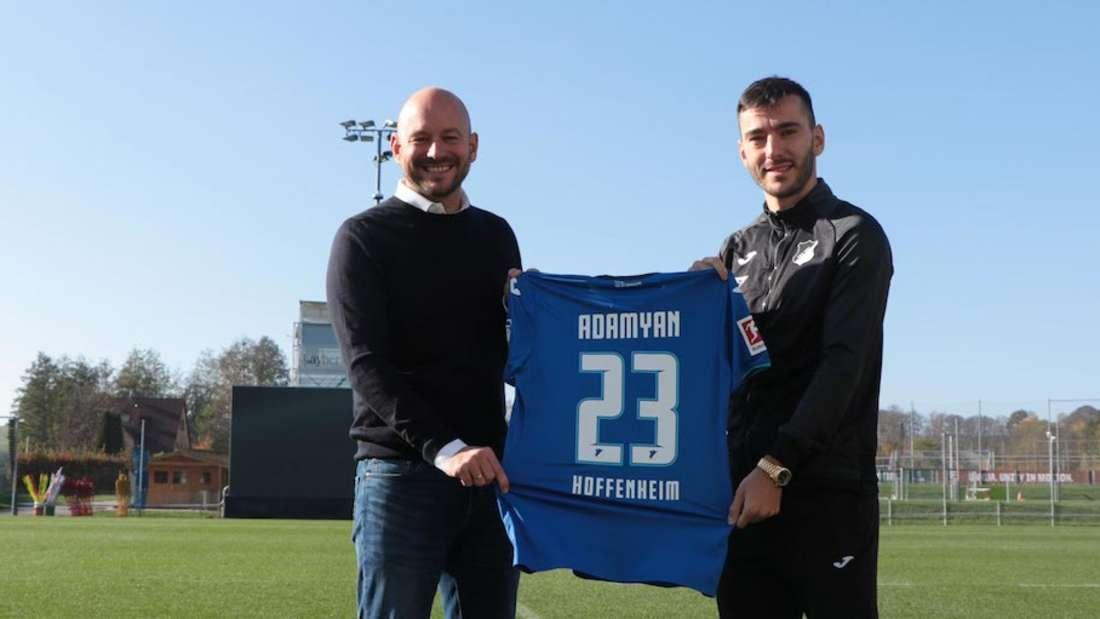 Die TSG Hoffenheim verlängert mit Sargis Adamyan.