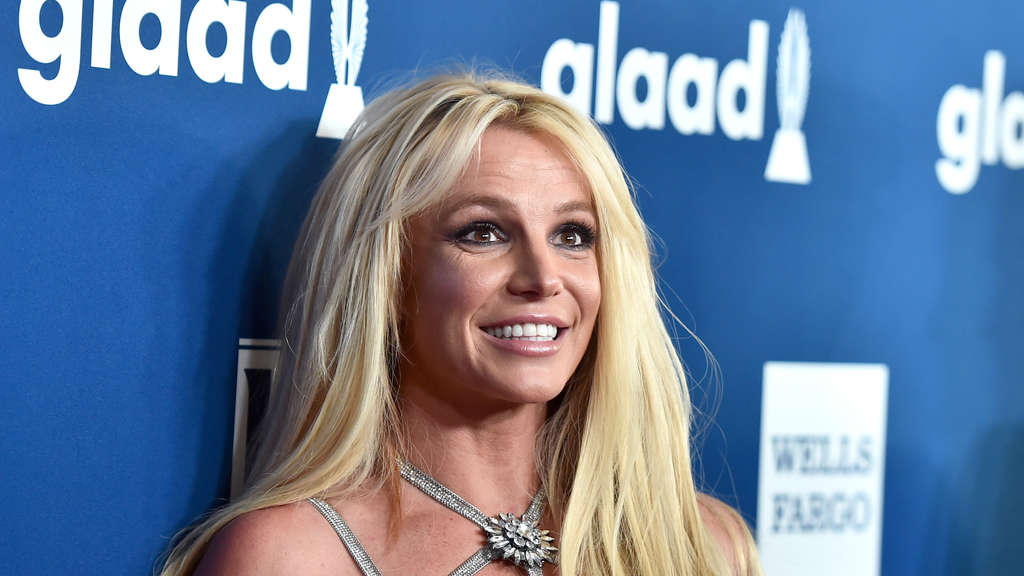Britney Spears bei den 29. Annual GLAAD Media Awards im The Beverly Hilton Hotel.