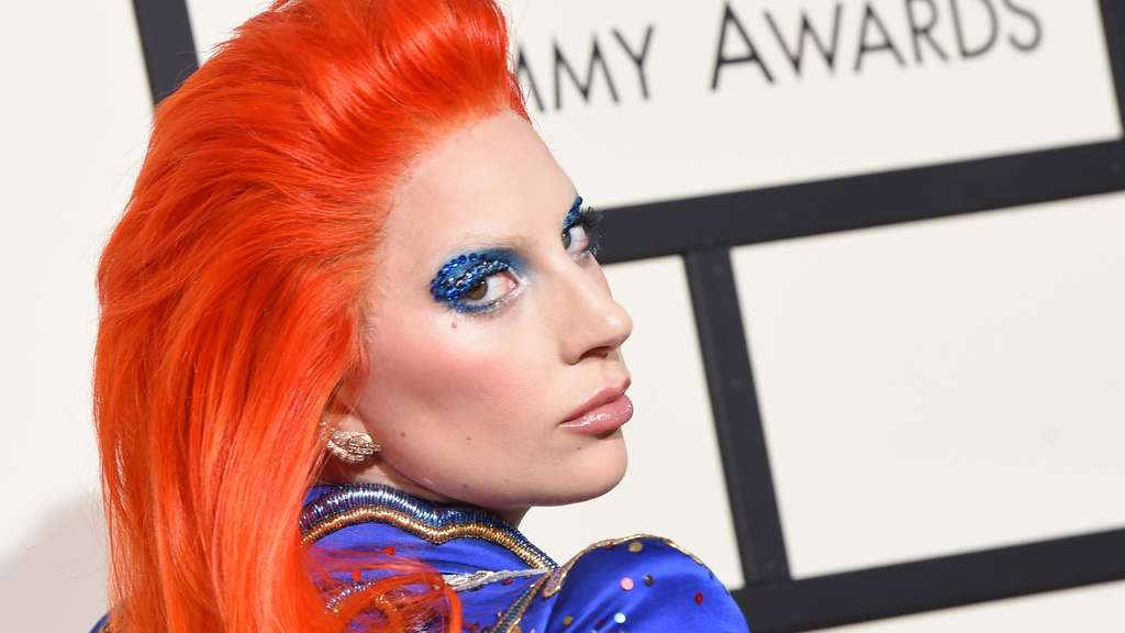 Lady Gaga auf den 58. Grammy Music Awards.
