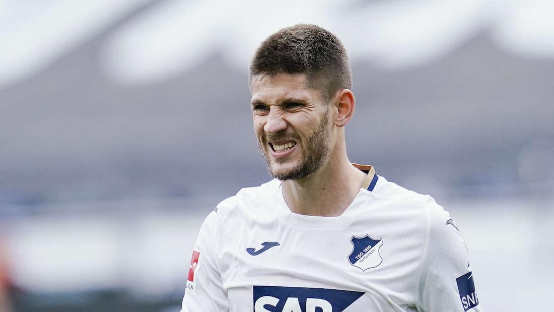 Hoffenheim-Stürmer Andrej Kramaric hat sich im Oktober mit Corona infiziert.